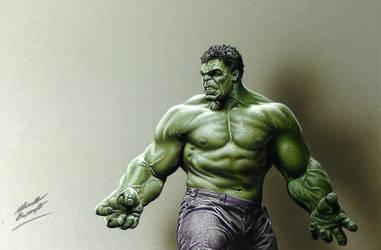 Drawing The Hulk