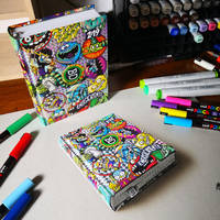 Drawing Cool School Planner by marcellobarenghi