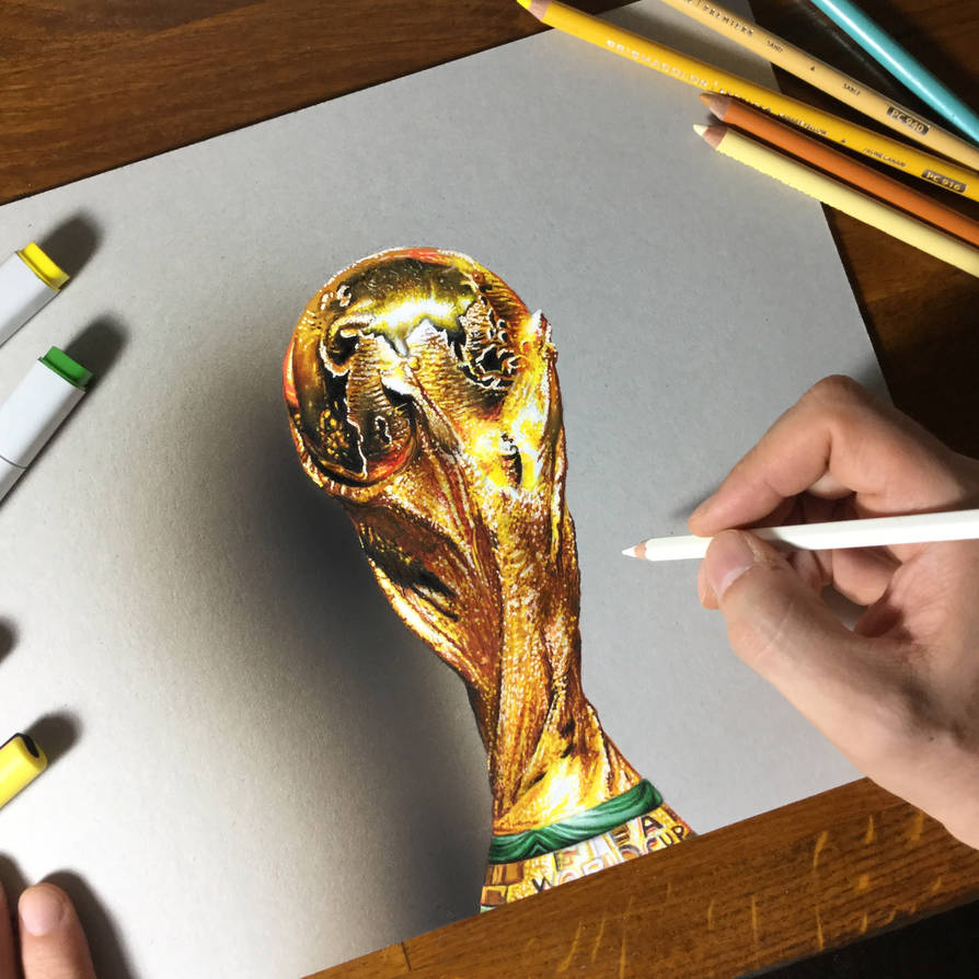 Draw it again: World Cup (2018) by marcellobarenghi