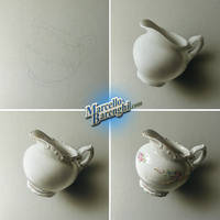 My drawing of a milk jug by marcellobarenghi