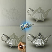My drawing of a teapot