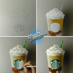 Frappuccino Drawing