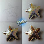 Drawing Gold Star