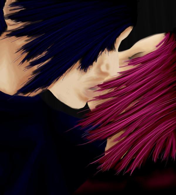 Konoha Kiss- Sasuke and Sakura by talachan on DeviantArt  Kankuro And Sakura Kiss