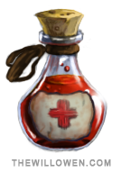 Health Potion sprite by Wontkins