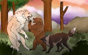 Big Hunt Bois by EvaEevee
