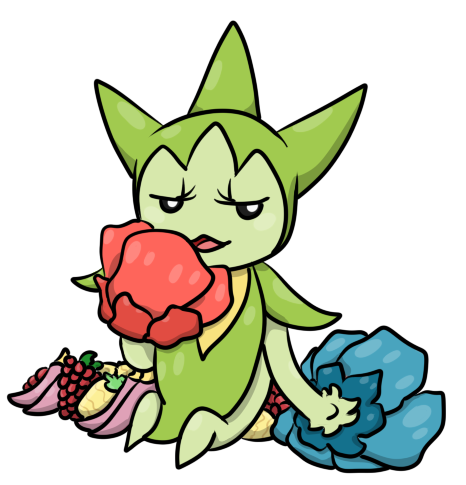 Oh Im sorry did you want THESE berries?? by EvaEevee