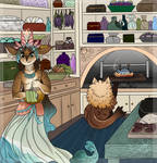 [Trade] Seaside Kitchen by StarryFeathers
