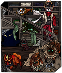 [HoWM Event] Part 1: The Basement by StarryFeathers