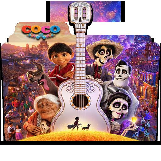 Coco 2017 Folder Icon By Gotzeuski On Deviantart