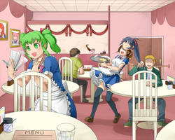 Kig Cafe 2 (Reupload) by Prinny77