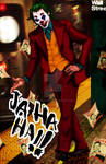 Joker Joaquin Phoenix  fanart