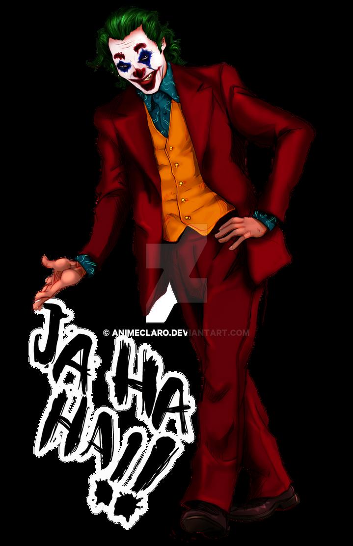 Joker Joaquin Phoenix Fanart Png By Animeclaro On Deviantart