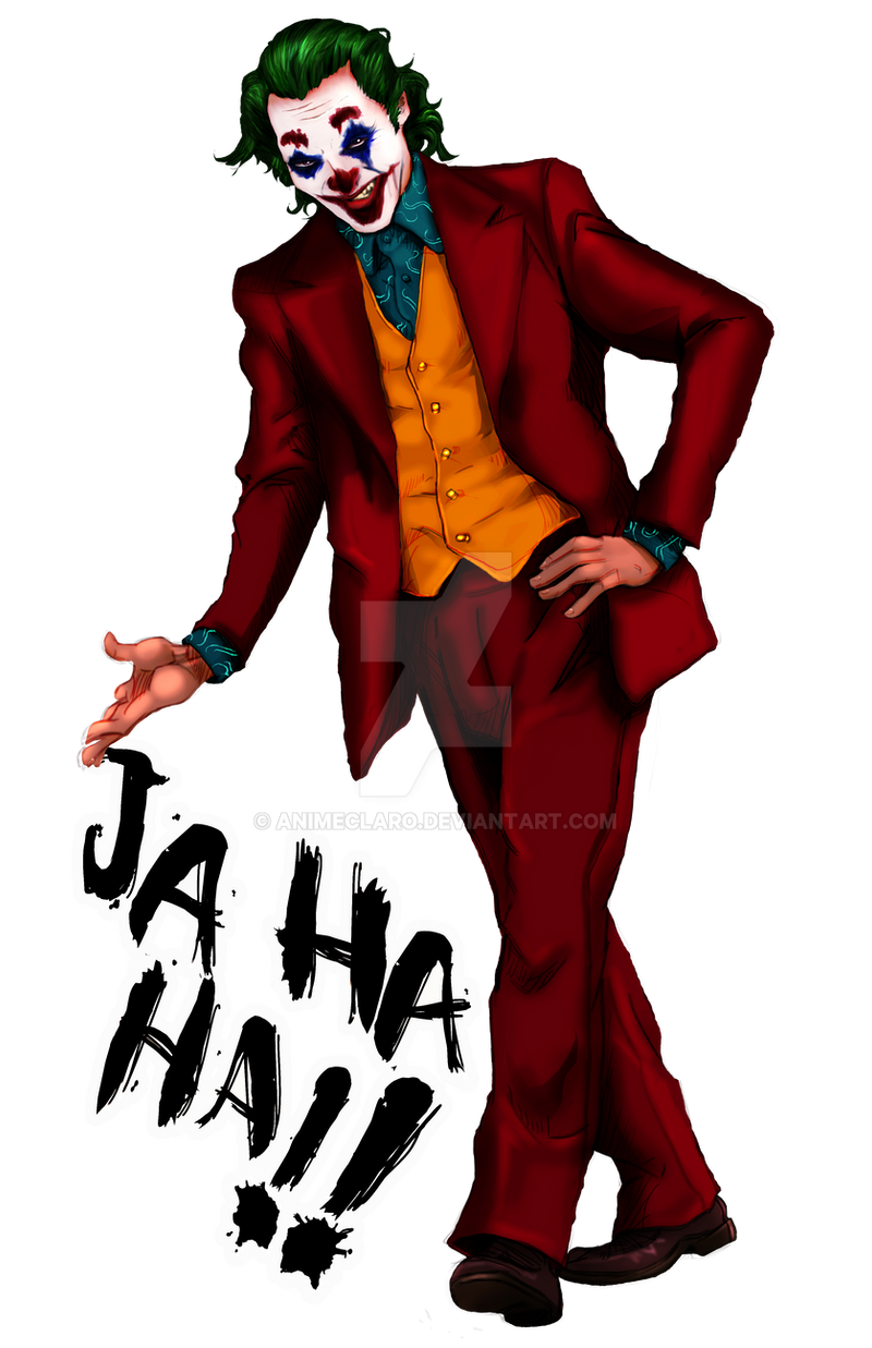 Joker Joaquin Phoenix Fanart Png By Animeclaro On Deviantart