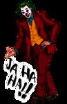 Joker Joaquin Phoenix fanart png