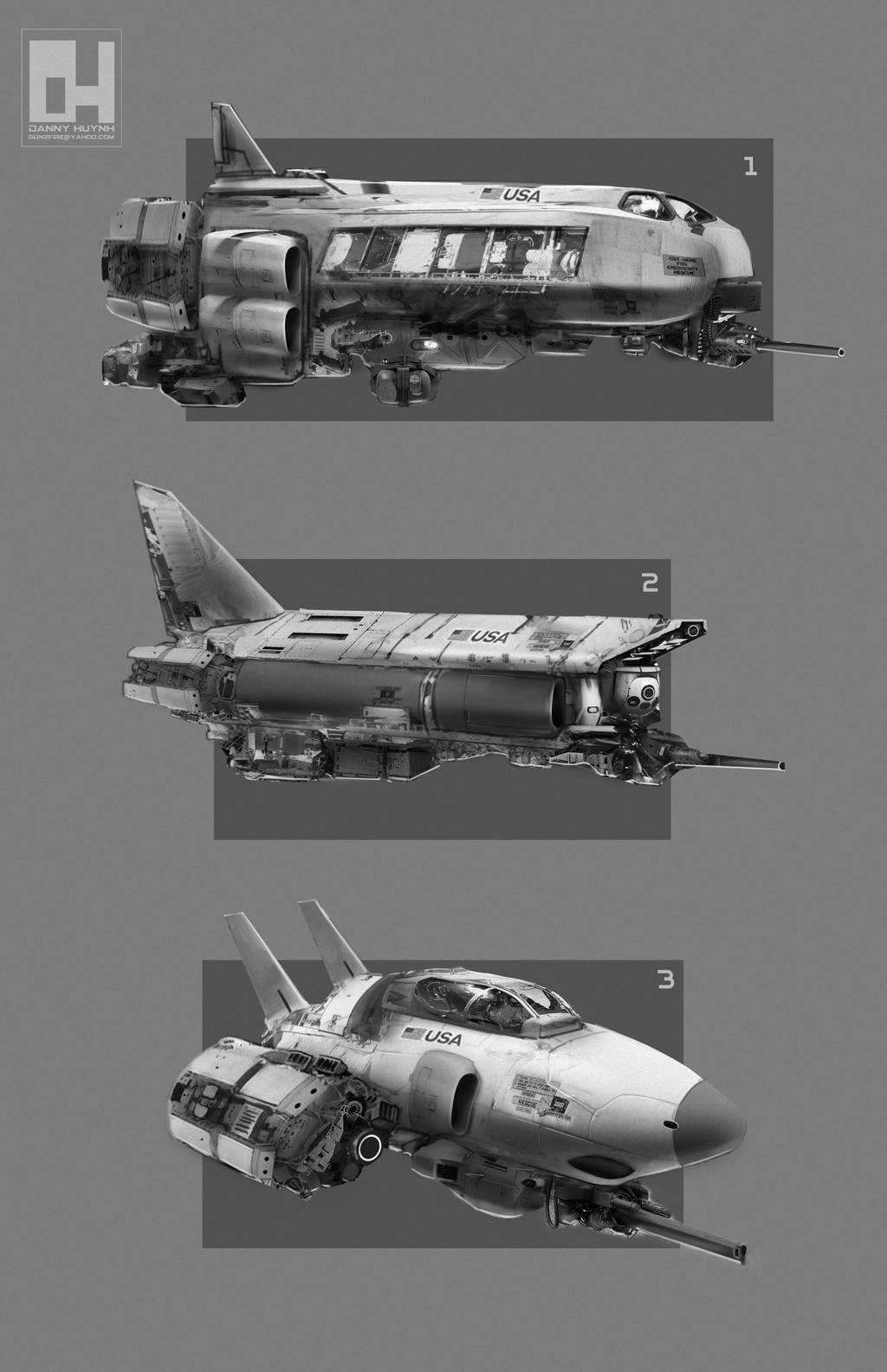 Spaceships by 152mm