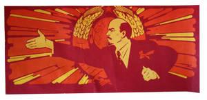 Soviet poster - Lenin