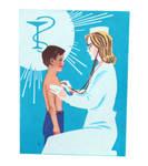 Healthcare in USSR - Soviet poster