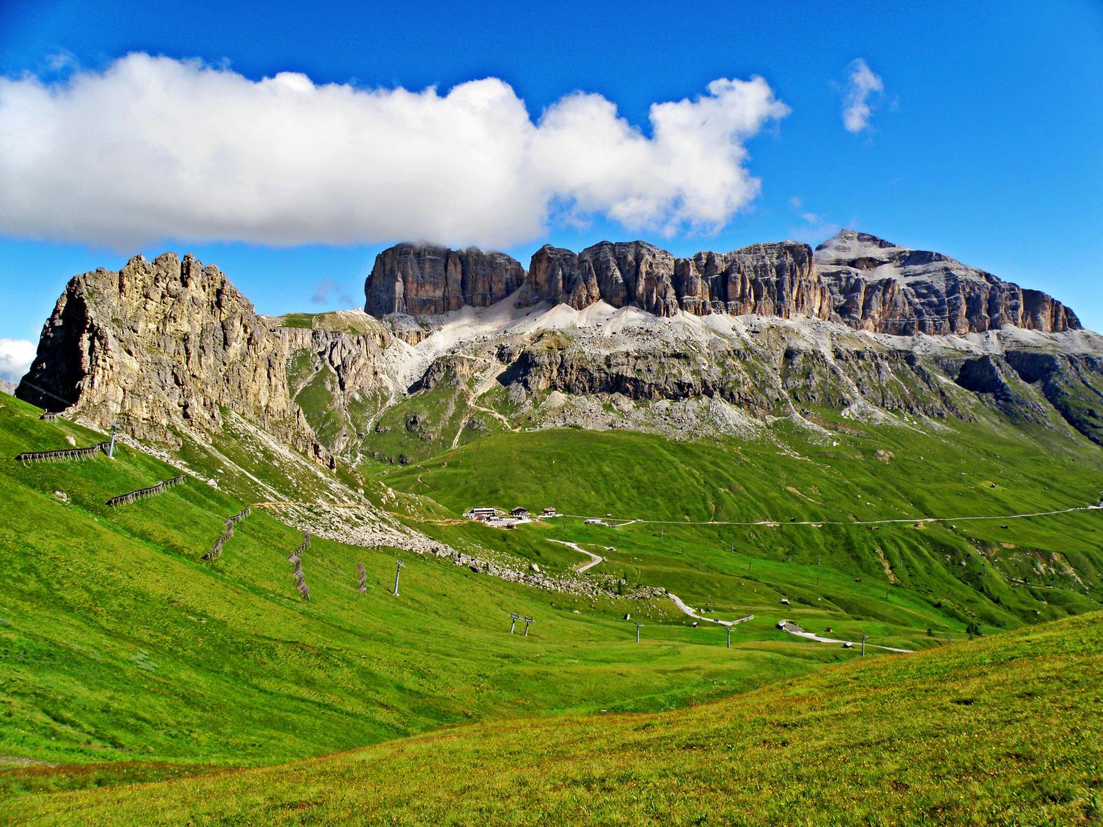 Pordoi Pass by Sergiba