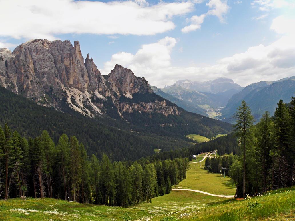 Valle del Vaiolet by Sergiba