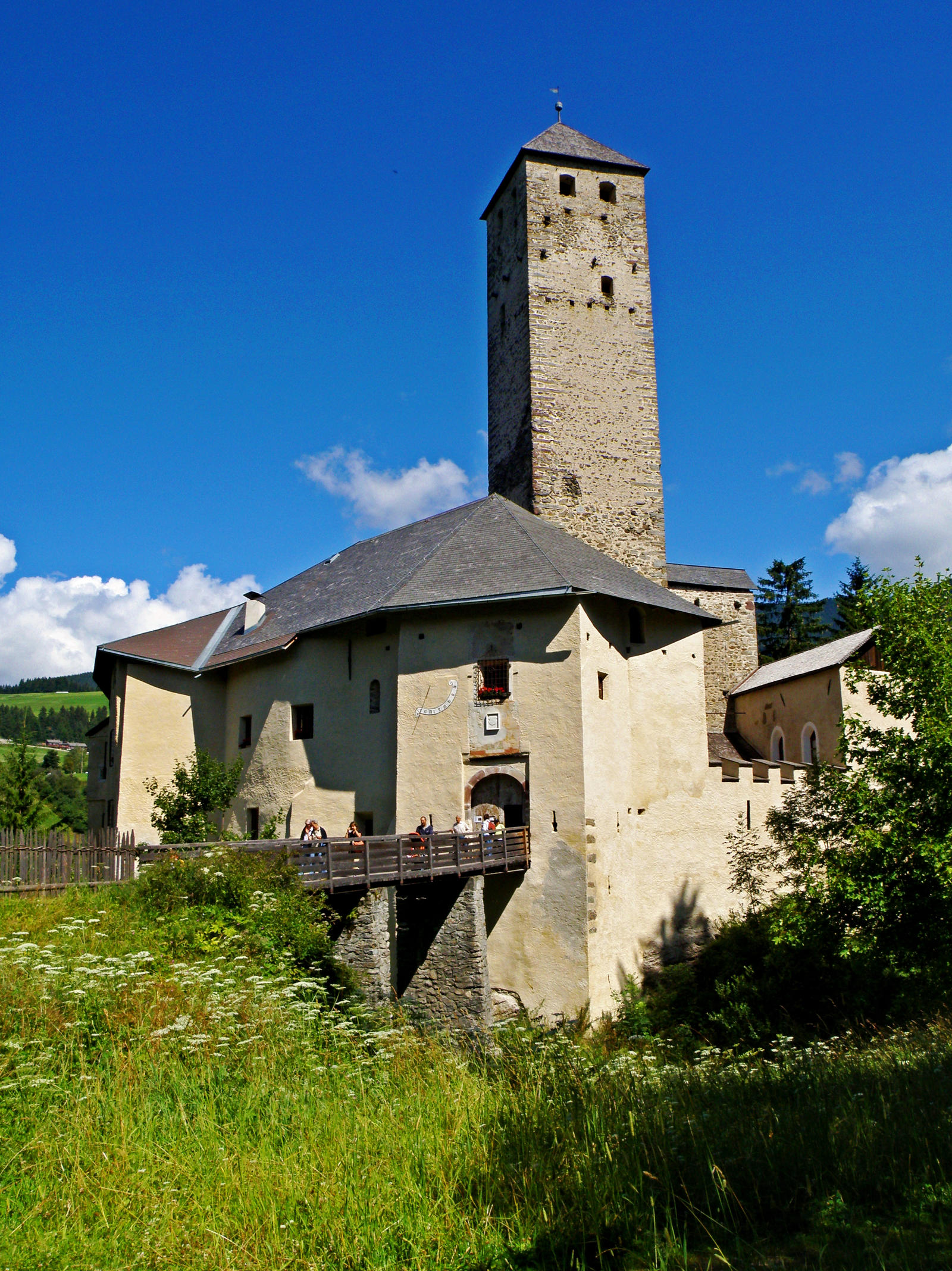 Castle Welsperg by Sergiba