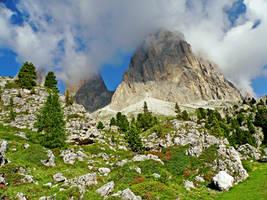 The mountains who smoke by Sergiba