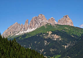 Parade of peaks by Sergiba