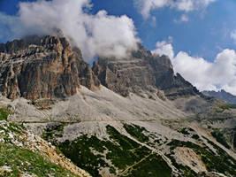Hike to the Three Peaks by Sergiba
