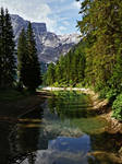 Reflections in Braies