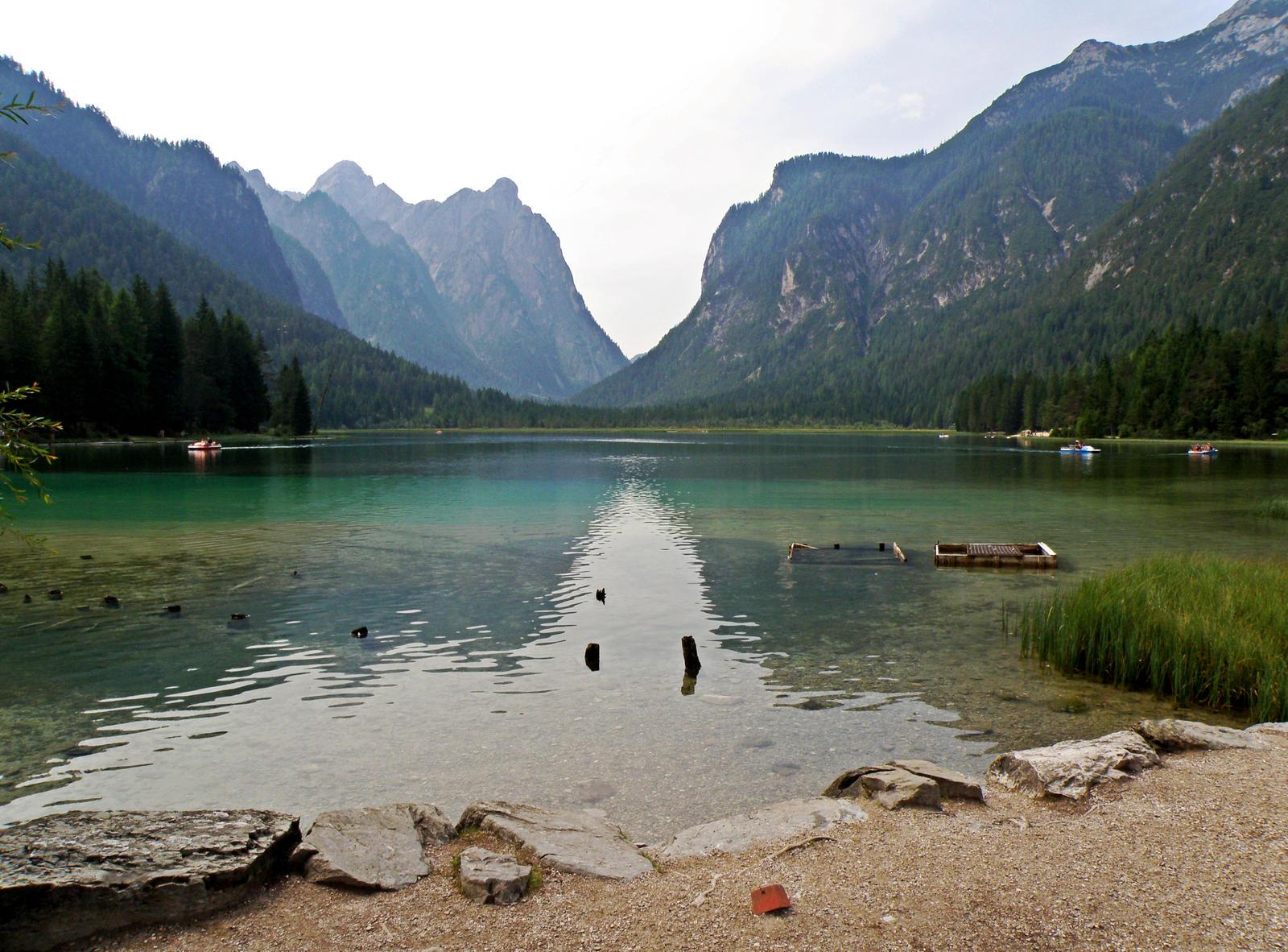Dobbiaco Lake by Sergiba