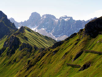 The two ridges by Sergiba