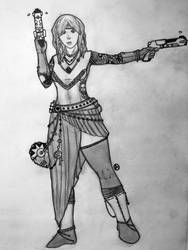 Sadie read- the lady of thieves by arepa999