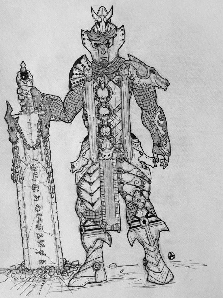 Bogdan -the dragon knight by arepa999