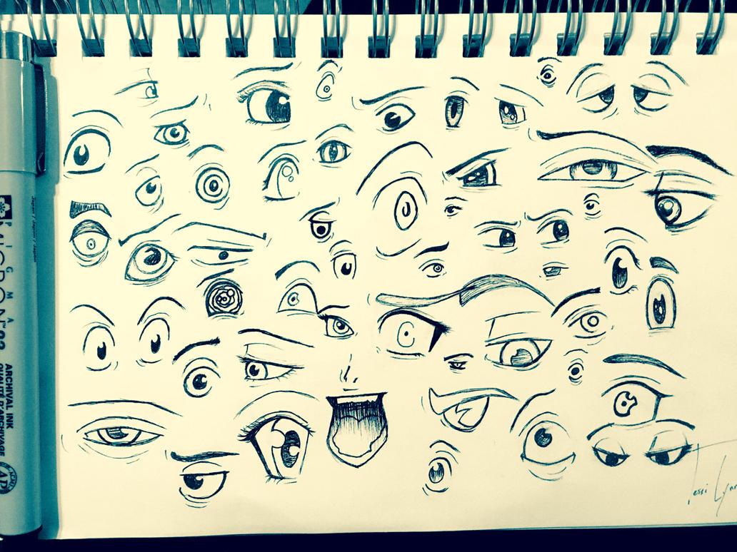 Eye practice by beautifulchaos93