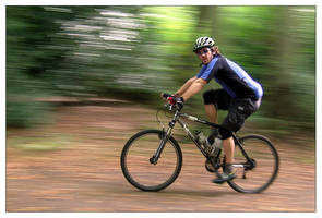 Just a Cyclist by photocell