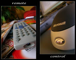 Remote Control by photocell