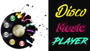 Disco music player - XWidget