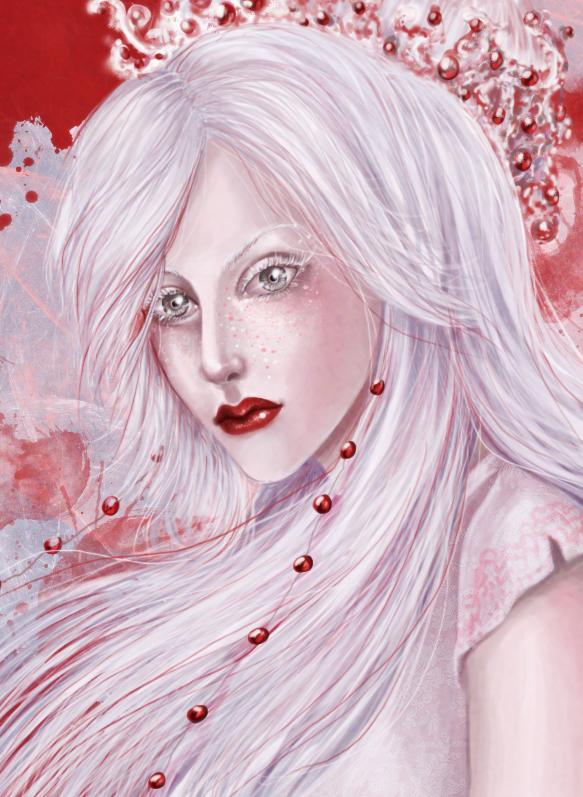 white lady by TeodoraLaessa