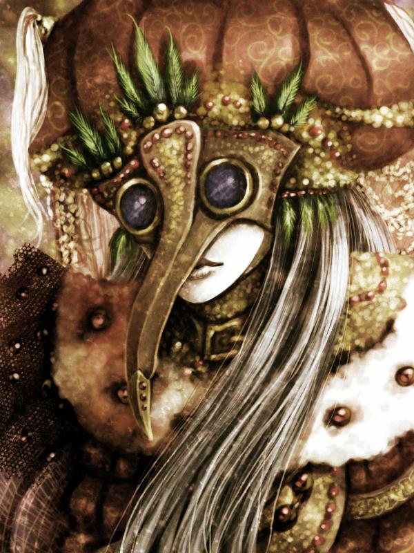 steampunk masquerade by TeodoraLaessa