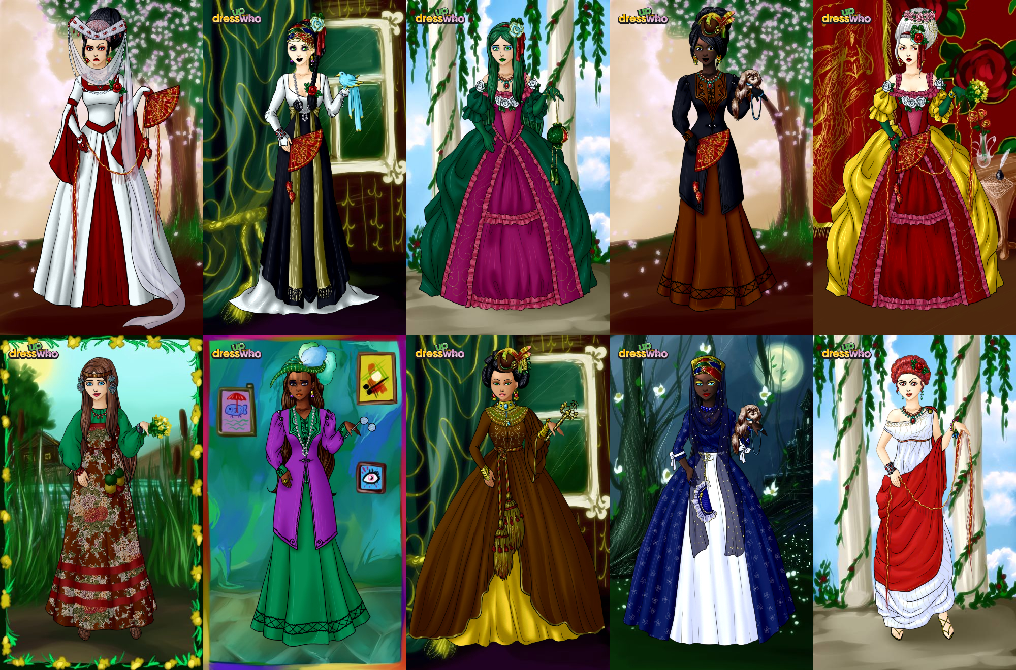 Anett (Medieval Dresses) Dress-up by TeodoraLaessa on ...