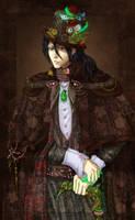 Kuchiki Byakuya Steampunk_2 by TeodoraLaessa