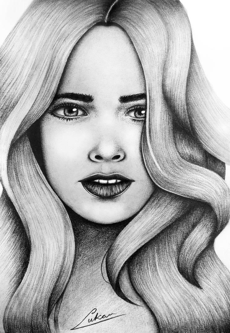 Pencil Practice Portrait by LucDeshan