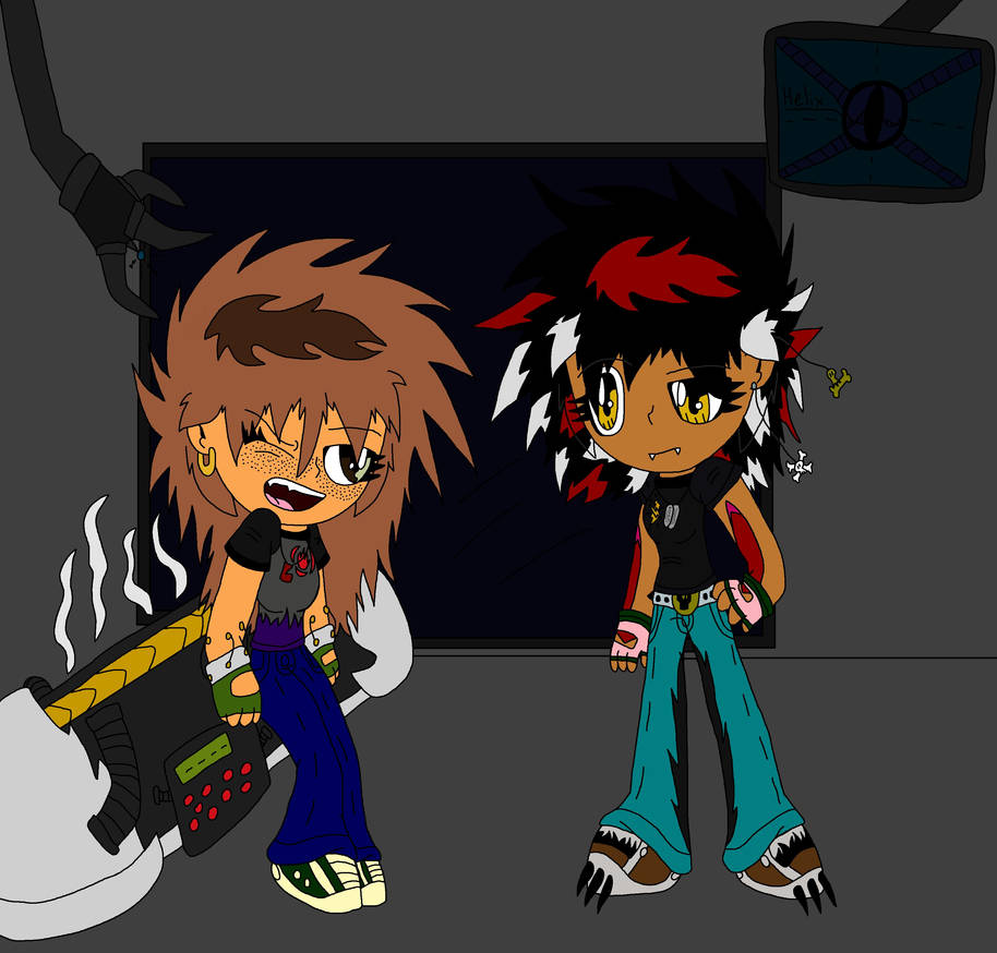 92dab686b39 Lizzie and Elise in Darkspore by LizzietheRatcicle on DeviantArt