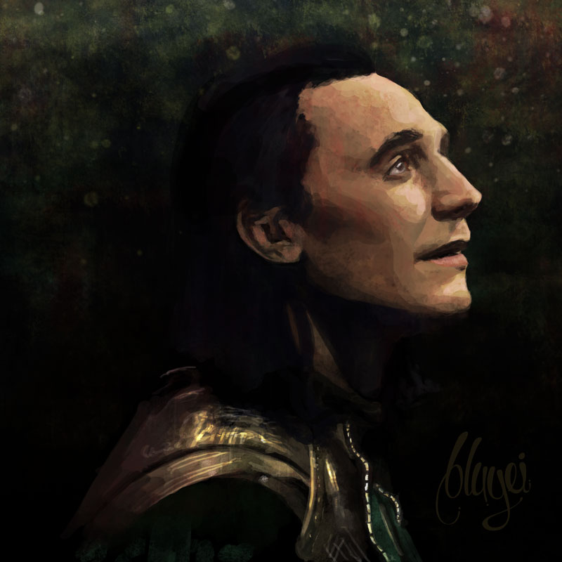 Loki fanart by bbluyei