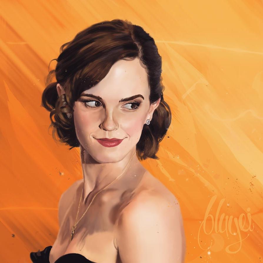 Emma fanart by bbluyei