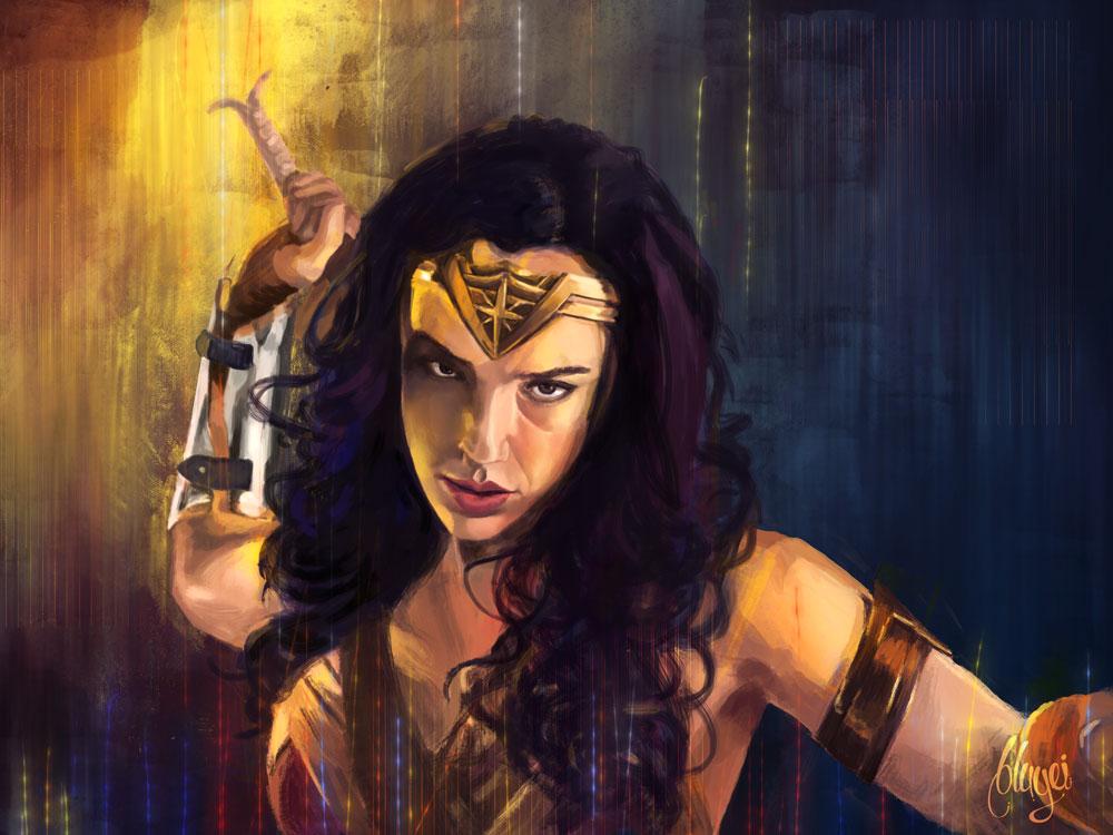 Wonder Woman fanart by bbluyei