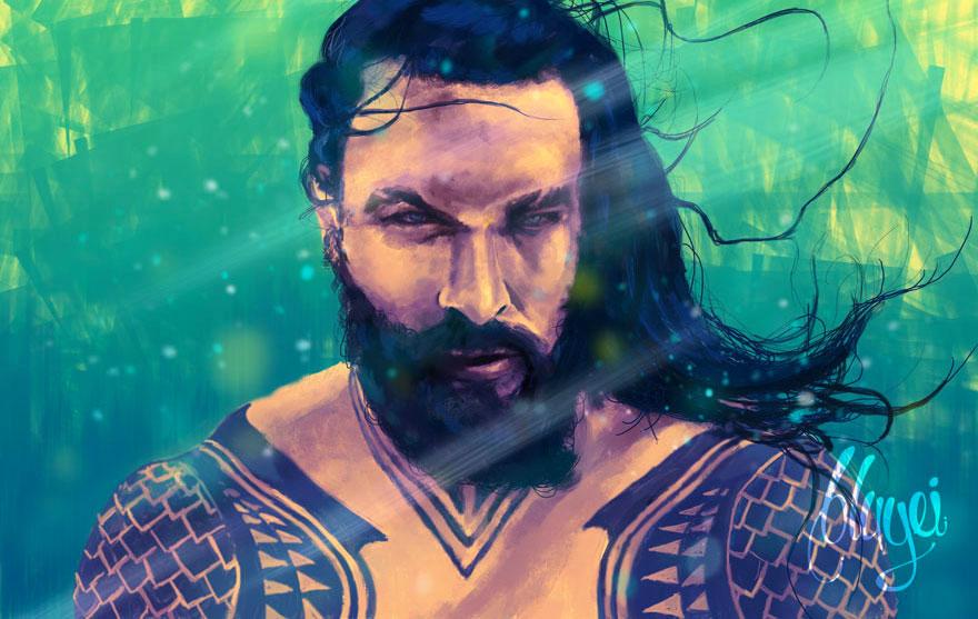 Aquaman fanart by bbluyei