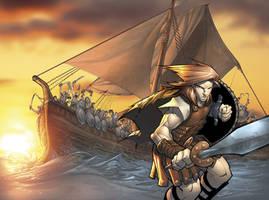 Jason And The Argonauts by Sandoval-Art