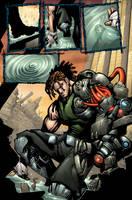 Bionic Commando page 01 by Sandoval-Art