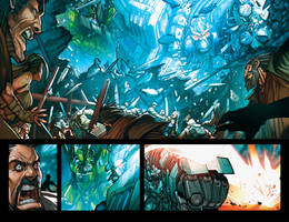 Dread Force Pages 2 and 3 by Sandoval-Art